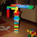 Majka w listopadzie 2007 #dźwig #lego