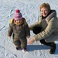 Boże Narodzenie 2007 w Zębie k. Zakopanego #majka #ząb #narty