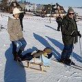 Boże Narodzenie 2007 w Zębie k. Zakopanego #majka #narty #ząb