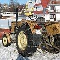Boże Narodzenie 2007 w Zębie k. Zakopanego #traktor #ząb