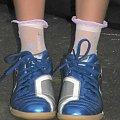 SWOJE NOWE ODJAZDOWE BUCIKI :D #dzieci #chlidren #kids #dziecko #usa #basen #wakacje #holidays #buty #shoes #stopy #feet