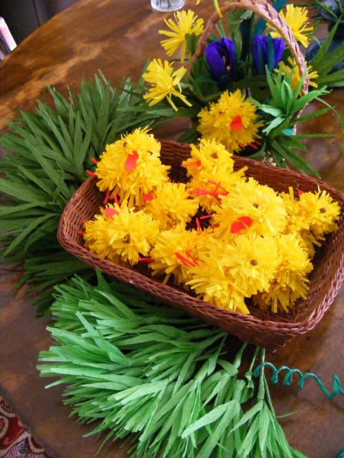 bibułkowa wiosna:) #kwiaty #bibuła #wiosna