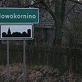 Nowokornino - I wracałem z powrotem #nowokornino #NoweKornino #droga #wieś #znak #drogowskaz #czyżyki #podlasie