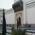 Paryż Instytut Muzułmański z meczetem i minaretem #Paryż #Meczet #Sekwana #zwiedzanie #Sorbona #kawiarnie
