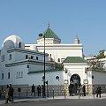 Paryż Instytut Muzułmański z meczetem i minaretem #Paryż #Luxembur #parki #Sorbona #studenci #Sekwana