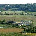Most na Noteci w Dziembówku #kolej #PKP #EN57 #most #rzeka #Noteć #wiosna