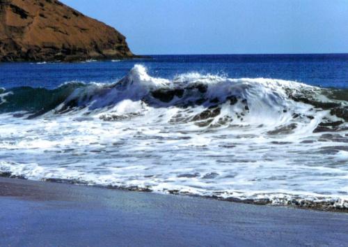 Skan z odbitki. Moja ukochana plaża nad oceanem. #ocean #morze
