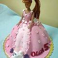 Lala Olga 5 lat #Tort #Lala #Lalka