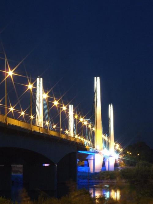 Wieczorową porą #miasto #most #wieczór