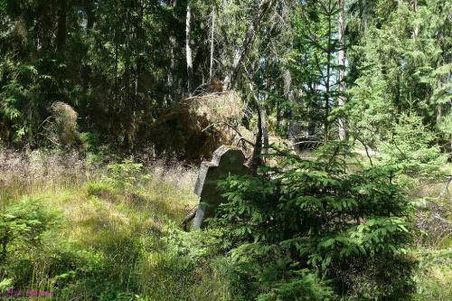 Paski - cmentarz wiejski #Paski #MazurskieCmentarze