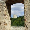 Kazimierz Dolny 2008 - ruiny #kazimierz #dolny #wycieczka #widoki