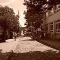 Kazimierz Dolny 2008 #kazimierz #dolny #uliczka #wycieczka #widoki #sępia