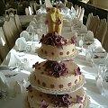 Tort Ekrii- Fioletowy 8 kg #Tort #Weselny #Impreza