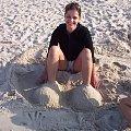 wakacje 2008 #wakacje #grzybowo #asia #michałek #plaża #morze