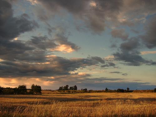 ciąg dalszy spektaklu na niebie.. #niebo #chmury #pogoda #spektakl