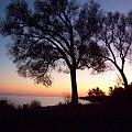 wieczor nad jeziorem Ontario #JezioroOntario #wieczor #jezioro