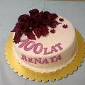 100 lat dla Renaty #Tort #okazjonalny