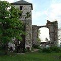Ruiny zameku Tęczyn (Tenczyn) w Rudnie #Ruiny #zamek #Tęczyn #Rudno #Polska #wies