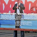 Lech Walesa w Oslo #ludzie #znani #plakat