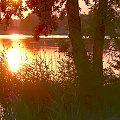 Jezioro Leleskie ok. Pasymia, wieczorna zorza. Evening glow Leleskie lake near Pasym. #wieczór #zorza