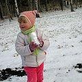 ... ale miałam frajdę :) ... #wnuczka #rodzina #bałwan #zima