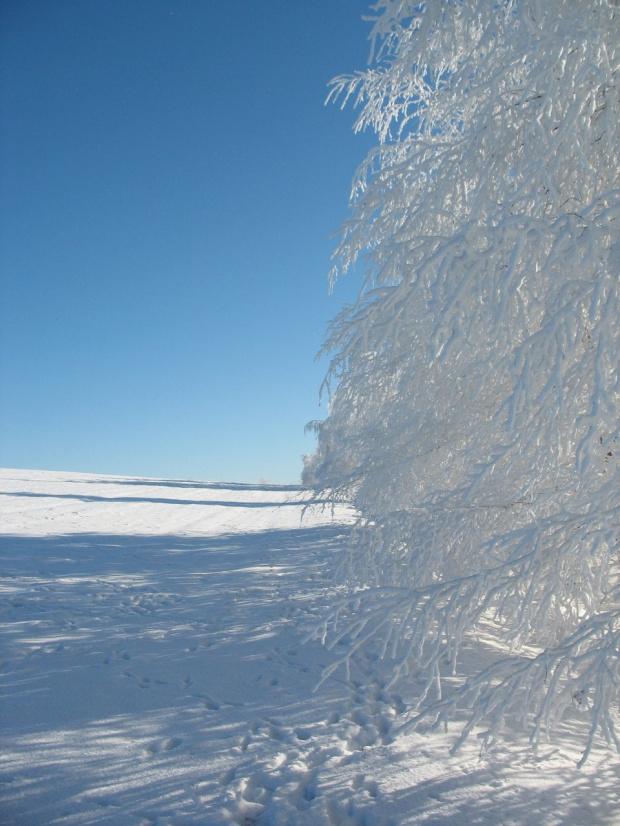 #GóryKaczawskie #ŁysaGóra #zima #śnieg