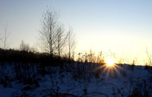#słońce #zachód