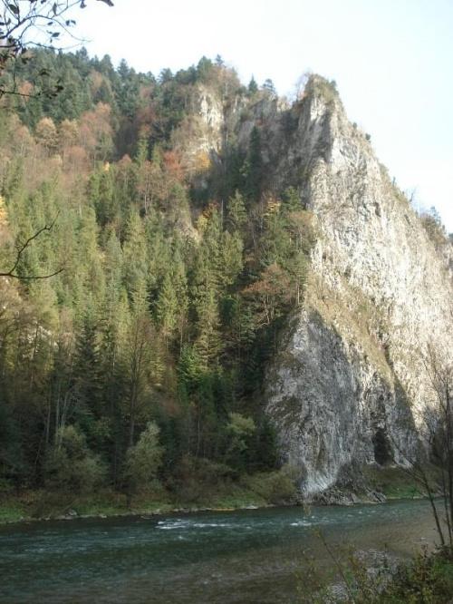 Przełom Dunajca 10.2008