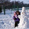 niedziela na wesoło ... #bałwan #dzieci #rodzina #śnieg #zima