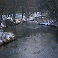 ... zimowe ... ale wiosną pachnie ... :) #rzeka #zima #Kłodnica #Sławięcice