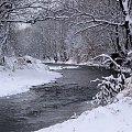 ... zimaaa ... c.d. **** ulub. inka47 **** #Opava #rzeka #zima #Chomiąża #RodzinneStrony