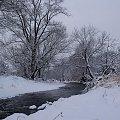 ... zimaaa ... c.d. #Opava #rzeka #zima #Chomiąża #RodzinneStrony