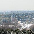 widok na moje miasto ... z 9 piętra ... #las #zima #MojeMiasto