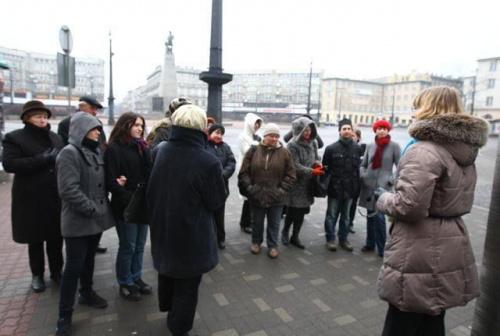 Niedzielny spacer po Łodzi