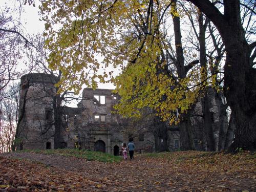 ruiny zamku Świny- oczywiście też z szuflady #Świny #zamek #ruiny