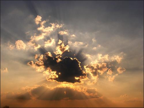 tak zachodzi słoneczko..przed godziną..:)