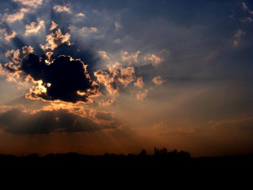jeszcze jedno ujęcie zachodzącego słoneczka..:)