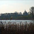 z rodzinnych stron #kościół #jezioro #Lubięcin