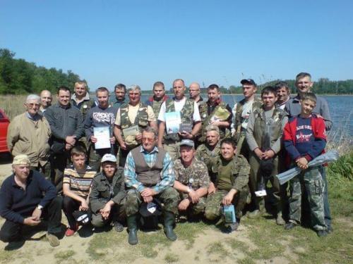 Uczestnicy zawodów inaugurujących sezon 2009.