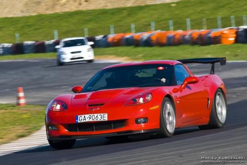 Akademia Sportowej Jazdy Porsche - Tor Poznań 19.04.09