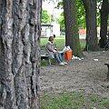 z podobnej ławki #park #ławka #odpoczynek