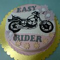 Tort dla pani z motorem #motor #tort #SportMotorowy #HarleyDavidson