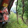 Wypadek kolejowy miedzy Piła a Starą Łubianką 4 sierpnia 2009 #kolej #wypadek #katastrofa #Piła #PKP #lato