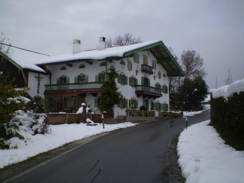 Aigen Bawaria - dom w Alpach