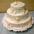 Tort w stylu angielskim #wesele #tort #imprezka