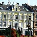 Świnoujście domy przy ulicy J. Piłsudskiego. #Świnoujście #domy