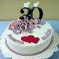 Tort dla Doroty i Błażeja na 30 rocznicę ślubu #rocznica #ślub #tort