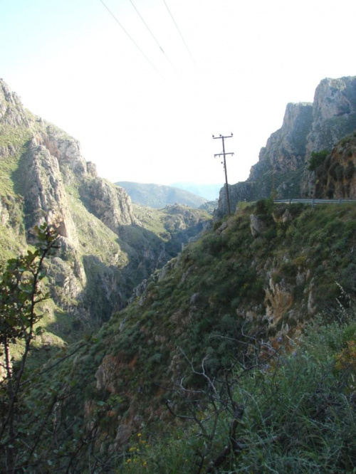 kręte drogi wysoko gdzieś w górach #KretaZachdnia #Kissamos #Paleohora #GóryLefki