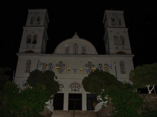 Kandanos nocą #Kreta #Kandanos #noc #zwiedzanie #wyprawa