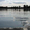 #woda #niebo #chmury #jezioro